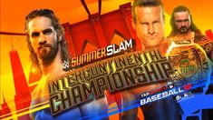 This Sunday Dolph Ziggler w/Drew McIntrye will defend Intercontinental Champion against Seth Rollins with return of Dean Ambrose in his corner who will be walk out of SummerSlam as Intercontinental Champion Seth Rollins, Seth Freakin Rollins, Wwe Ppv, Wwe Pay Per View, Dolph Ziggler, Drew Mcintyre, Wwe Superstars, Twitter, My Idol