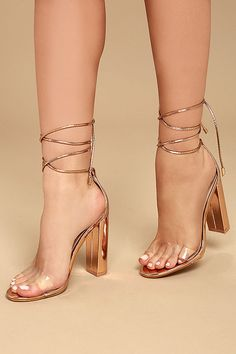 ef022380b4e8 81 Best Clear high heels images in 2019