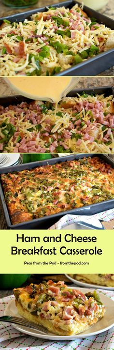 When you need to make breakfast for a crowd, you're hosting a brunch or it's a special holiday this breakfast casserole from @afamilyfeast fits the bill.