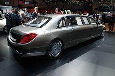 2018 Mercedes-Benz S600 Pullman Maybach - New Luxury sedan from Mercy The New Mercedes-Benz S600 Pullman Maybach guard 2018 will come out with new design
