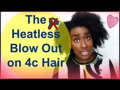Natural Hairstyle Tutorial: The Heatless Blow Out on Natural Hair ( 4c, 4b ) - http://47beauty.com/hair-tutorials/natural-hairstyle-tutorial-the-heatless-blow-out-on-natural-hair-4c-4b/ https://www.avon.com/category/bath-body/hair-care?repid=16581277 Shop Hair Care Products  Natural Hairstyle Tutorial: The Heatless Blow Out on Natural Hair ( 4c, 4b ) Hey loves Just trying to make your hair journey easier. So I wanted  the blow out look (stretched hair purposes) without using
