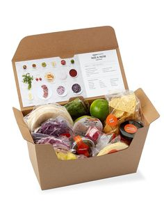 Kits para planificar comida- ElleSpain Vegetable Packaging, Food Box Packaging, Organic Packaging, Food Packaging Design, Brand Packaging, Organic Food Delivery, Veggie Box, Vegetable Shop, Bokashi