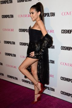 Madison Beer at the Cosmopolitan's 50th Birthday Celebration, West Hollywood (12 October, 2015)