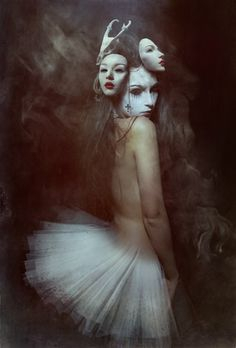 "Saatchi Online Artist: Diana Dihaze; Photomanipulation, 2012, Digital ""not falling""  for Inspiring Artist Study at CAPI- Create Art Portfolio Ideas for Art Students"