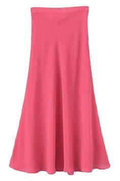 ROMWE | ROMWE Zippered Lined Sheer Red Skirt, The Latest Street Fashion