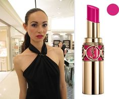 YSL Rouge Volupte in Provocative Pink