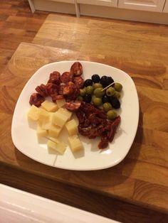 Super simple tapas plate