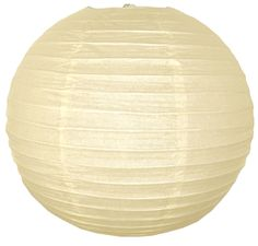 "Perfect wedding decor!  10"" Ivory Paper Lantern"
