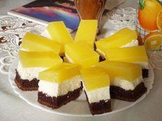 Fanta szelet, Mirinda szelet, Üdítős sütemény....minek nevezzelek? Hungarian Desserts, Cake Cookies, Cake Recipes, Bakery, Cheesecake, Deserts, Food And Drink, Sweets, Snacks