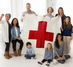 Red Heart Cares Crochet Blanket | Crochet Projects | Free Crochet Projects | Crochet with Jo-Ann