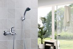 Macneil - Sapphire - Bath Mixer & Hand Shower. Impressive all in one package, with an attractive price. Remodel your bathroom with this amazing addition!