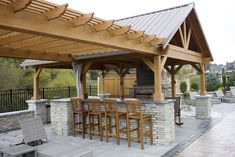 Lean Pergola With Roof - Pergola Terrasse Fait Maison - How To Hang Pergola Curtains - Pergola Bois Piscine Diy Pergola, Outdoor Pergola, Wooden Pergola, Pergola Shade, Diy Patio, Outdoor Rooms, Outdoor Living, Pergola Ideas, Small Pergola