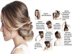 Learn How to Braid Your Hair Easy But With Style | www.prakticideas.com