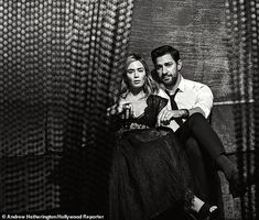 Married actors Emily Blunt and John Krasinski take the cover story of The Hollywood Reporter's December 2018 issue captured by photographer Andrew . John Krasinski Emily Blunt, The Hollywood Reporter, In Hollywood, Blunt Talk, Romance, Famous Couples, Best Couple, Celebrity Couples, Famous Faces
