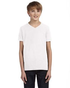 Buy 3005Y Youth Jersey #VNeck #T shirt at $5.88 Save $0.65 right away, Shop Now >>http://goo.gl/Bh5im2