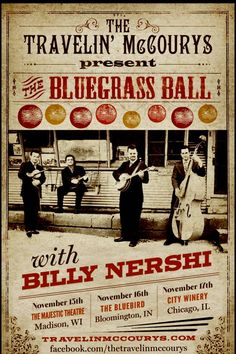 This would be a great bluegrass show!