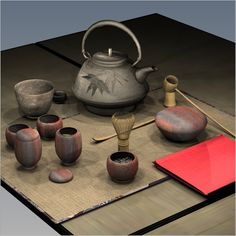 Utensils For The Japanese Tea Ceremony click the image or link for more info. Japanese Tea House, Japanese Tea Set, Turkish Tea, Tea Culture, Japanese Tea Ceremony, Tea Art, Japanese Ceramics, Tea Bowls, Tea Time
