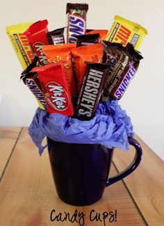 CANDY CUP- Perfect Guys gift! - Also great for someone with a sweet ...