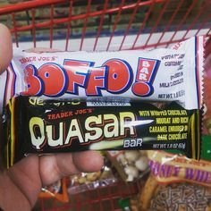 Do you want something from @traderJoesfood? #snacks #bofo #quasar #candy