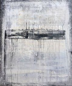 "Saatchi Art Artist Roger König; Painting, """"1105 Drips Serie V antique abstract"""" #art"