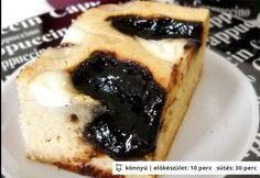 Szilvalekváros-kefires kukoricaprósza Sweet Cookies, Kefir, French Toast, Paleo, Cheesecake, Snacks, Breakfast, Recipes, Food