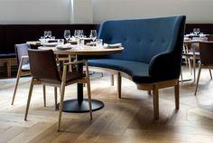 Bronda Restaurant #Decor Inspired by Scandinavian Sea Coast bronda fine dining #restaurant