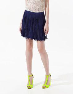 Stupenda gonna a frangie lunghe di Zara!! 19.99 euro!