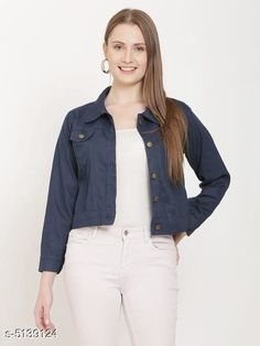 Jackets Fancy Women's Jackets Fabric: Cotton Sleeve Length: Long Sleeves Pattern: Solid Multipack: 1 Sizes:  S (Bust Size: 36 in Length Size: 28 in)  XL (Bust Size: 42 in Length Size: 28 in)  L (Bust Size: 40 in Length Size: 28 in)  M (Bust Size: 38 in Length Size: 28 in) Country of Origin: India Sizes Available: S, M, L, XL, XXL   Catalog Rating: ★4.2 (19254)  Catalog Name: Comfy Fabulous Women Jackets CatalogID_758744 C79-SC1023 Code: 592-5139124-747