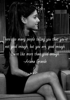 Image result for ariana grande quotes