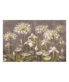 Look at this #zulilyfind! Spring Blossoms by Danhui Nai Giclée Wrapped Canvas #zulilyfinds