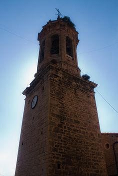 Campanario de Linares de Mora by Jota Aguilar, via Flickr