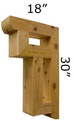 Wood Bracket 18T1