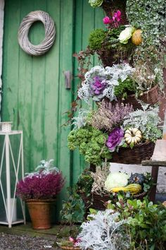 tinywhitedaisies  http://tinywhitedaisies.tumblr.com/post/33949524763  A harvest theme that's green
