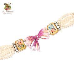 "Lola Paltinger Armband ""Alpenlady"" https://www.almresi.de/lola-paltinger/armbaender/lola-paltinger--armband-alpenlady.php"