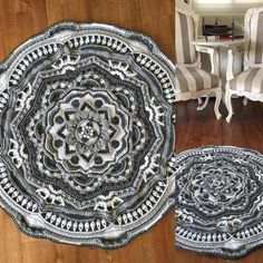 Mandala Madness - Free Pattern on Ravelry ... This one is by K. Kviatek