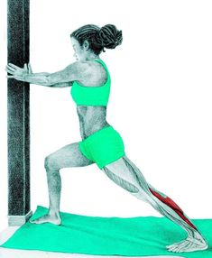 So what kind of muscles do you stretch when you do yoga? Look at these stretching exercises with pictures do find out - Vicky Tomin is a Yoga exercise Calf Stretches, Stretching Exercises, Full Body Stretch, Qi Gong, Calf Muscles, Calisthenics, Massage Therapy, How To Do Yoga, Yoga Fitness