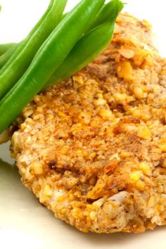 Spicy-Crispy Baked #Chicken Recipe Made with Corn Flakes