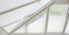 """Conservatory roof blinds perfect for keeping the hot summer sun at bay. Conservatory Roof Blinds, Made To Measure Blinds, House Blinds, Aquaponics, Summer Sun, Shutters, Curtains, Twitter, Gallery"