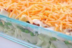 7 Layer Green Salad