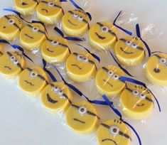 1 DOZEN Chocolate Covered Yellow Monster Minion Oreos - Childrens Birthday Party, Baby Shower, Valentines Day favor GIFT on Etsy, $16.92 CAD
