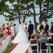 Beautiful View Highlights Maine Destination Weddings At Spruce Point Inn
