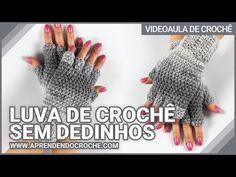 LUVA DE CROCHÊ SEM DEDINHOS DEGRADÊ - YouTube Crochet Skirt Pattern, Crochet Gloves, Crochet Art, Fingerless Gloves, Arm Warmers, Knitting, Boot Cuffs, Patterns, Youtube