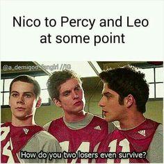 Leo is Stiles Nico is Isaac Percy is Scott >> como cuando juntan tu serie con tu libro y NECESITAS pinearlo XD