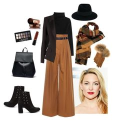"""""""Caramel"""" by marijana71 ❤ liked on Polyvore featuring Valentino, Martin Grant, Maison Michel, FRR, Wilsons Leather, Sole Society, Maybelline, Vita Liberata and Alexandre Vauthier"""