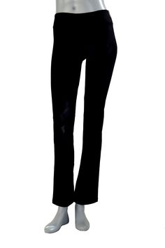 CLARANY Women's Combed Cotton Spandex Boot-Leg Waistband Yoga Pants ** See this awesome image  : Yoga Weightloss