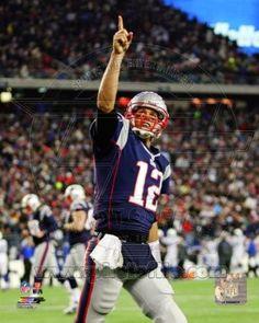 Tom Brady New England Patriots 2012 NFL