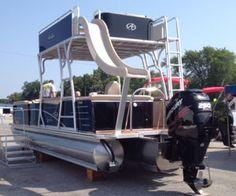 The Funship! Get your own pontoon here! www.newportpontoons.com