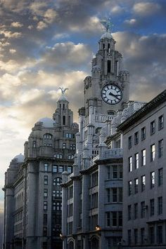 Liver Buildings - Liverpool, England