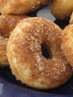 Cinnamon & Sugar Baked Donuts - Crumbs and Chaos