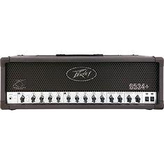 Www Peavey 6534 Plus 120W Tube Guitar Amp Head Black